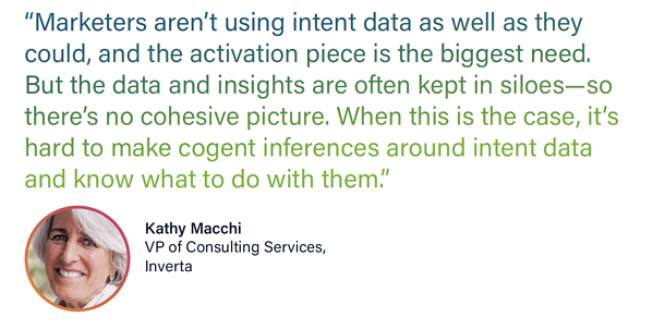 Kathy Macchi, VP of Consulting Services, Inverta Quote